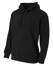 A4 NB4237 Boys Solid Tech Fleece Hoodie at GotApparel