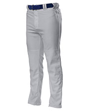 A4 NB6162 Boys Pro Style Open Bottom Baggy Cut Baseball Pants at GotApparel