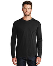 Custom Embroidered New Era NEA102 Men 4.4 oz Heritage Blend Long Sleeve Crew Tee at GotApparel