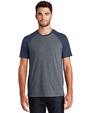 Custom Embroidered New Era NEA107 Men 4.4 oz Heritage Blend Varsity Tee at GotApparel