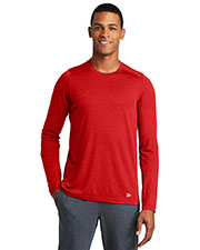 Custom Embroidered New Era NEA201 Men 4 oz Series Performance Long Sleeve Crew Tee at GotApparel