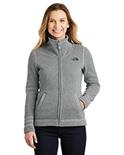 Custom Embroidered The North Face NF0A3LH8 Ladies Sweater Fleece Jacket at GotApparel