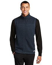 Custom Embroidered The North Face NF0A47FA Men Sweater Fleece Vest at GotApparel