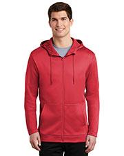 Nike NKAH6259 Men 7 oz Therma-FIT Full-Zip Fleece Hoodie at GotApparel