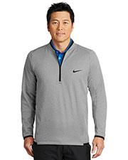 Nike NKAH6267 Men 7 oz Therma-FIT Textured Fleece 1/2-Zip at GotApparel