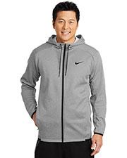 Nike NKAH6268 Men 7 oz Therma-FIT Textured Fleece Full-Zip Hoodie at GotApparel