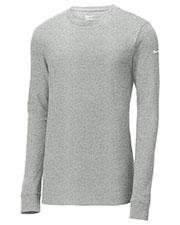 Nike NKBQ5232 Men 4.6 oz Core Cotton Long Sleeve Tee at GotApparel