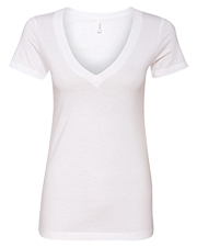 Next Level NL6640  Ladies' Cvc Deep V-Neck Tee at GotApparel