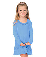 Little Girl 3-6X Sunflower Long Sleeve Dress at GotApparel