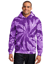 Port & Company PC146 Men Essential TieDye Pullover Hooded Sweatshirt at GotApparel