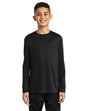 Port & Company PC380YLS Boys Long Sleeve Performance Tee at GotApparel