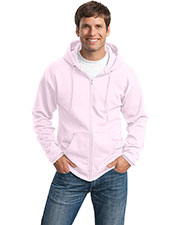 Port & Company PC78ZH Men Classic FullZip Hooded Sweatshirt at GotApparel