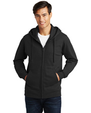 Port & Company PC850ZH  ® Fan Favorite Fleece Full-Zip Hooded Sweatshirt. . at GotApparel