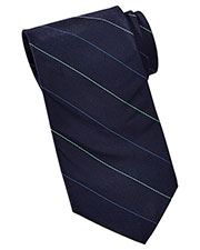 Edwards PS00 Men Pinstripe Silk Tie at GotApparel