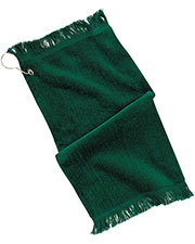 Port & Company PT40 Men Grommeted Fingertip Towel at GotApparel