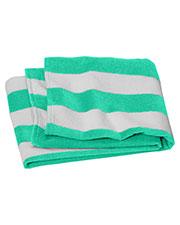 Port Authority PT45 Value Cabana Stripe Beach Towel at GotApparel