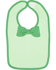 Rabbit Skins R1002 Infant 5.5 oz Baby Rib Bow Tie Bib at GotApparel