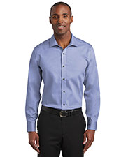 Red House RH620 Men 3.8 oz Slim Fit Pinpoint Oxford Non-Iron Shirt at GotApparel