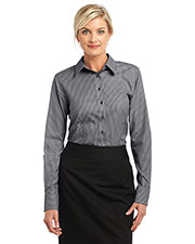 Red House RH65 Women Stripe Non-Iron Pinpoint Oxford at GotApparel