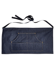 Artisan Collection by Reprime RP125  Jeans Stitch Denim Waist Apron at GotApparel