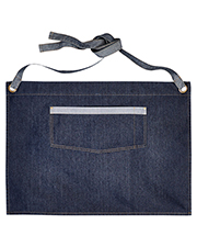 Artisan Collection by Reprime RP128  Domain Contrast Denim Waist Apron at GotApparel