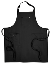 Artisan Collection by Reprime RP132 Unisex 7.1 oz Cotton Chino Bib Apron at GotApparel
