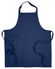 Artisan Collection by Reprime RP132  Cotton Chino Bib Apron at GotApparel