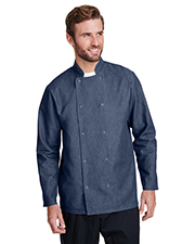 Artisan Collection by Reprime RP660 Men Denim Chef's Jacket at GotApparel
