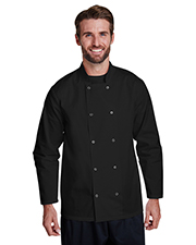 Artisan Collection by Reprime RP665  Studded Front Long-Sleeve Chef's Jacket at GotApparel