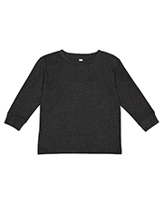 Rabbit Skins RS3302 Toddler Long-Sleeve Fine Jersey T-Shirt at GotApparel