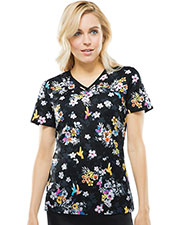 Runway RW607X8 Women V-Neck Top at GotApparel