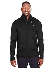 Custom Embroidered Spyder S16539 Men Venom Full-Zip Jacket at GotApparel