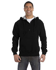 Custom Embroidered Champion S185 Men For Team 365 Cotton Max 9.7 Oz. Quarter-Zip Hood at GotApparel