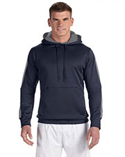 Champion S220 Adult Performance 5.4 oz. Colorblock Pullover Hood at GotApparel