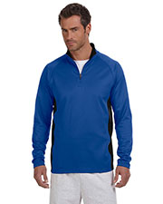 Champion S230 Adult Performance 5.4 oz. Colorblock Quarter-Zip Jacket at GotApparel