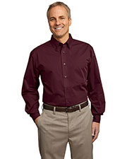 Port Authority TLS613 Men Tall Tonal Pattern Easy Care Shirt at GotApparel