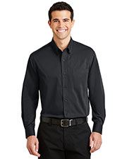 Port Authority S613 Men Tonal Pattern Easy Care Shirt at GotApparel