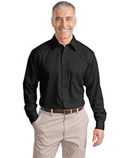 Port Authority TLS638 Men Tall Long-Sleeve Non-Iron Twill Shirt at GotApparel
