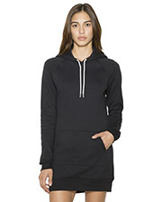Custom Embroidered American Apparel SAF398W Women Flex Fleece Hooded Dress at GotApparel