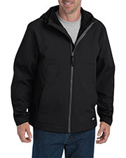 Dickies SJ377 Men Performance Flex Soft Shell Jacket with Hood at GotApparel