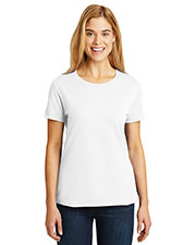 Hanes SL04 Women 4.5 oz Nano-T®Cotton T-Shirt at GotApparel