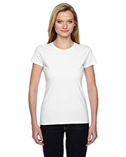 Fruit of the Loom SSFJR Women 4.7 oz., 100% Sofspun Cotton Jersey Crew T-Shirt at GotApparel