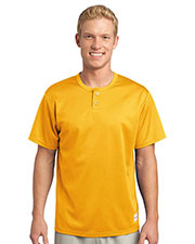 Sport-Tek ST215 Men PosiCharge Tough Mesh Henley at GotApparel