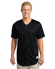 Sport-Tek® ST220 Men's PosiCharge® Tough Mesh Full-Button Jersey at GotApparel