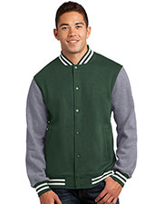 Sport-Tek ST270 Men Fleece Letterman Jacket at GotApparel