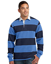 Sport-Tek ST300 Men Long Sleeve Rugby Polo at GotApparel
