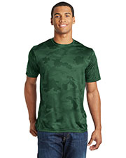 Sport-Tek ST370 Men CamoHex Tee at GotApparel