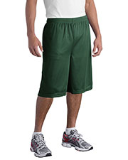 Sport-Tek ST511 Men Extra Long PosiCharge Classic Mesh Short at GotApparel