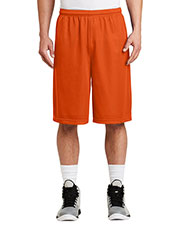 Sport-Tek® ST511 Men Extra Long PosiCharge® Classic Mesh Short at GotApparel