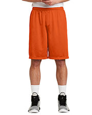 Sport-Tek® ST515 Men Long PosiCharge® Classic Mesh Short at GotApparel
